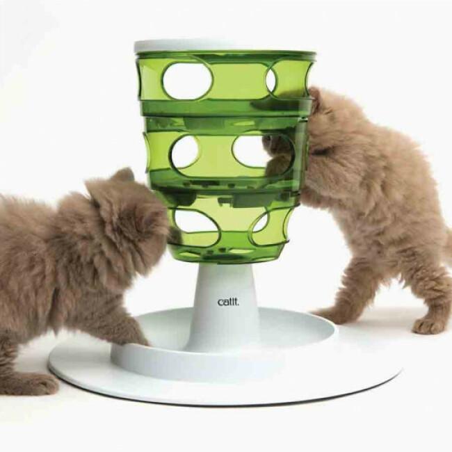 Labyrinthe à aliments pour chat Senses 2.0 Cat'it