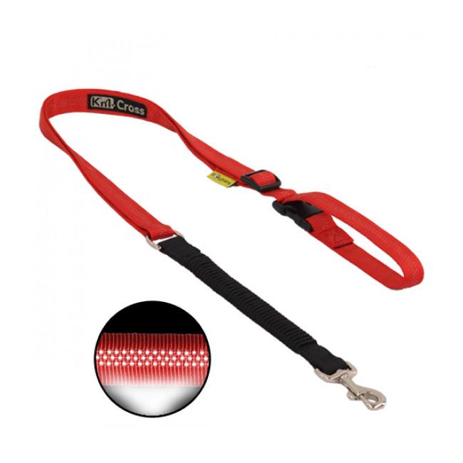 Laisse ceinture réglable à amortisseur Jogg'Shock Kn'1 pour sport avec chien
