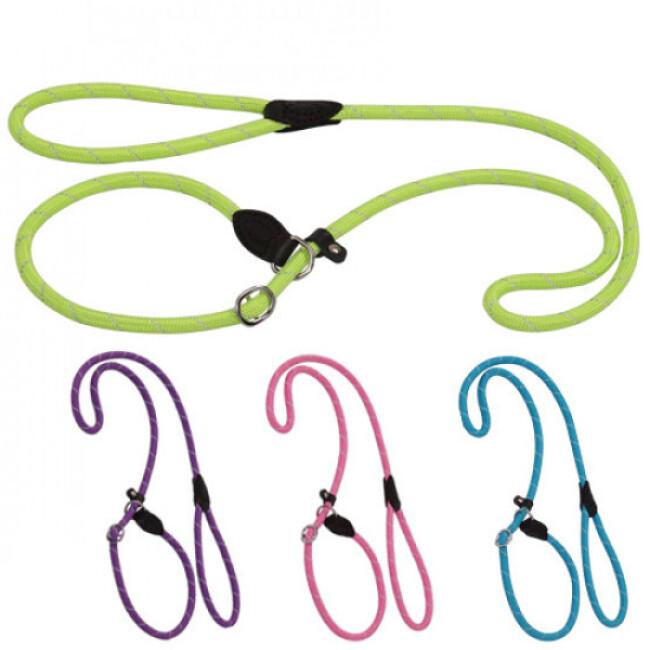 Laisse lasso en corde nylon ColoRope pour chien