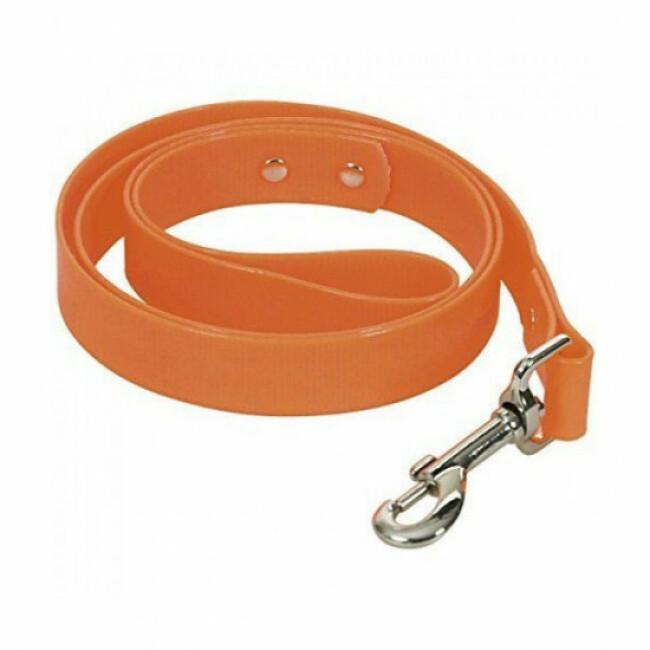 Laisse pour chien en PVC Chapuis Sellerie fluo orange