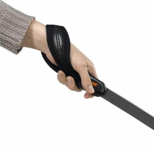 Laisse souple pour chien avec poignée ergonomique Ergoflex G Ferplast gris