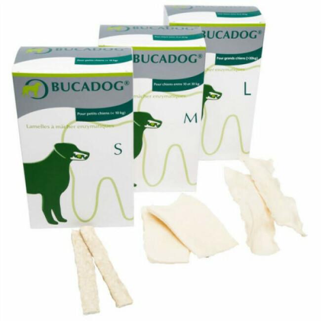 Lamelles à mâcher Bucadog pour chien