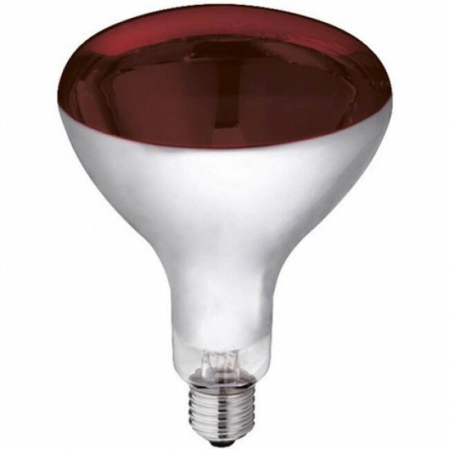 Lampe chauffante à infrarouge en verre trempé 250 W