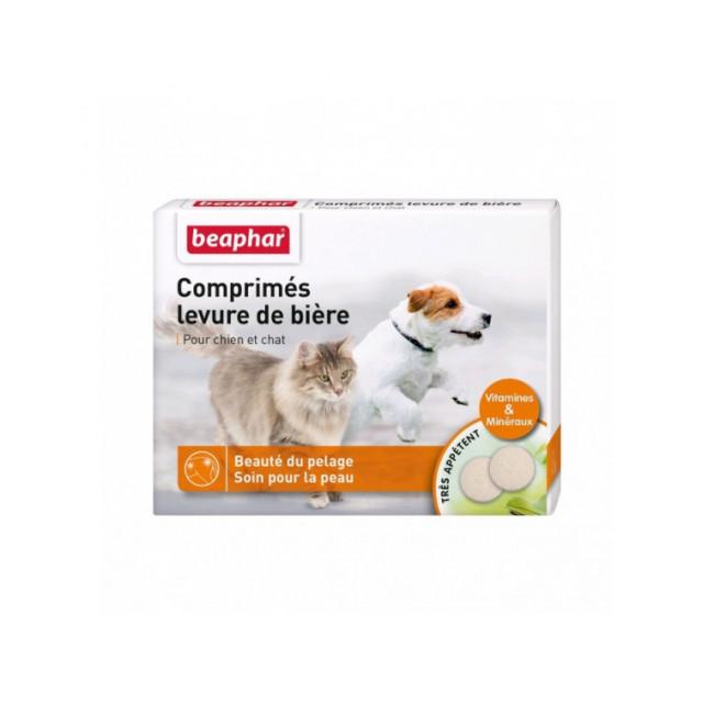 Levure de bière pour chien et chat Beaphar Boîte de 100 comprimés