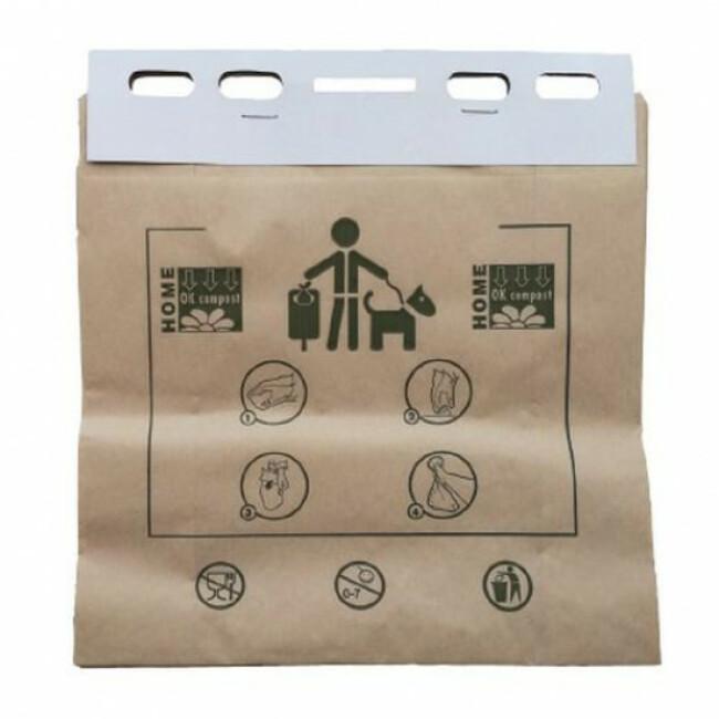 Liasse papier 100% BIO - Carton de 20 liasses de 50 sacs