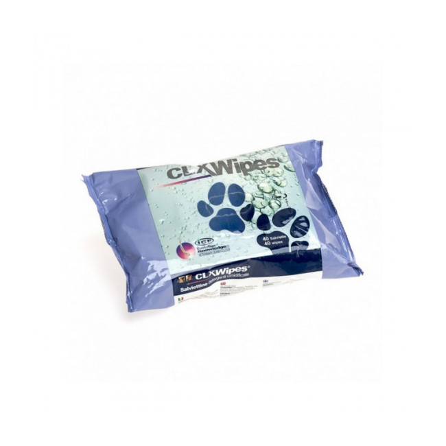 Lingettes pour chiens et chats CLX Wipes à la chlorhexidine