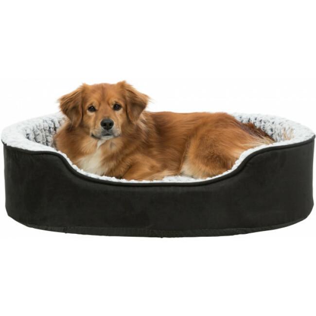 Lit à mémoire de forme ovale pour chien Lino Trixie