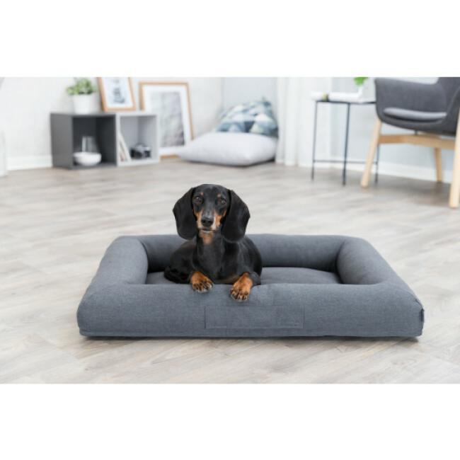 Lit coussin orthopédique pour chien Vital Pulito gris