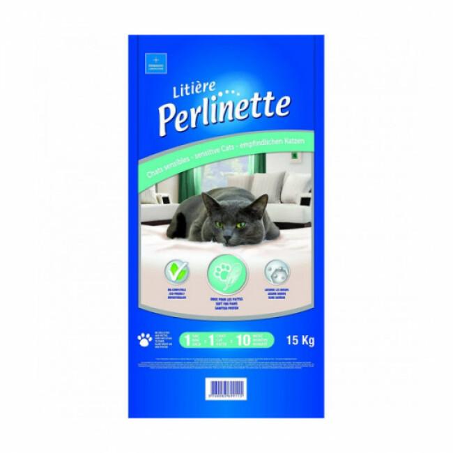 Litière pour chat sensible Perlinette