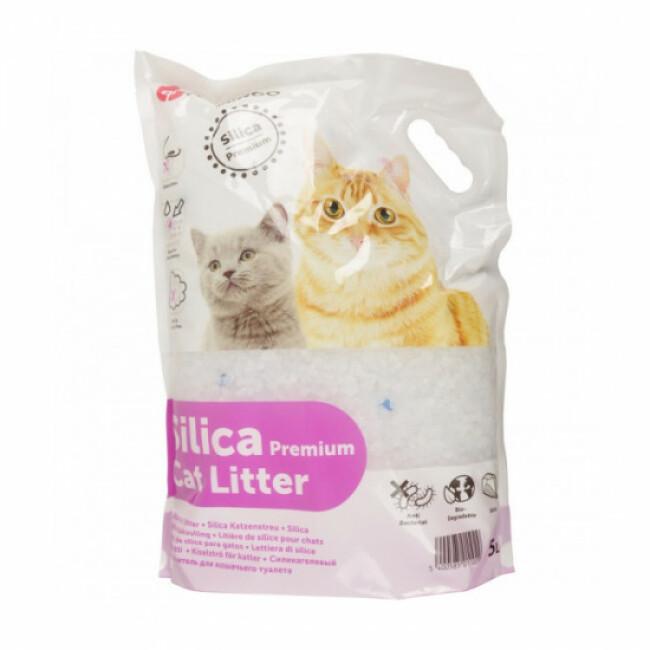 Litière pour chat Silica Premium Percato Flamingo