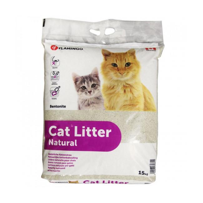 Litière pour chats Nature Contenance 15 kg