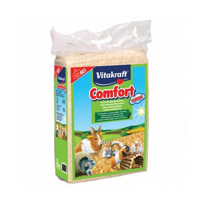 Litière en copeaux Vitakraft Comfort pour rongeurs