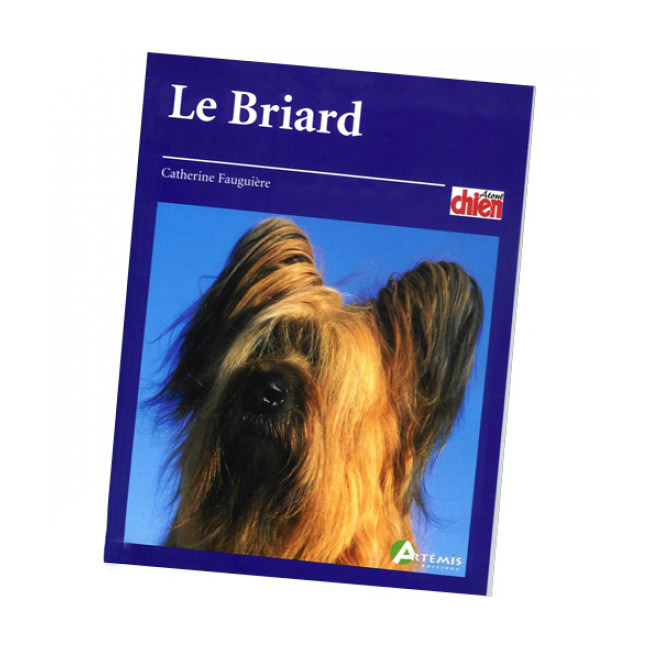 "Livre ""Briard"" Collection Pet Book"
