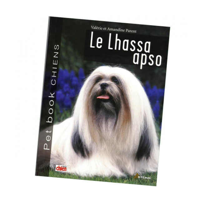 "Livre ""Lhassa Apso"" Collection Pet Book"