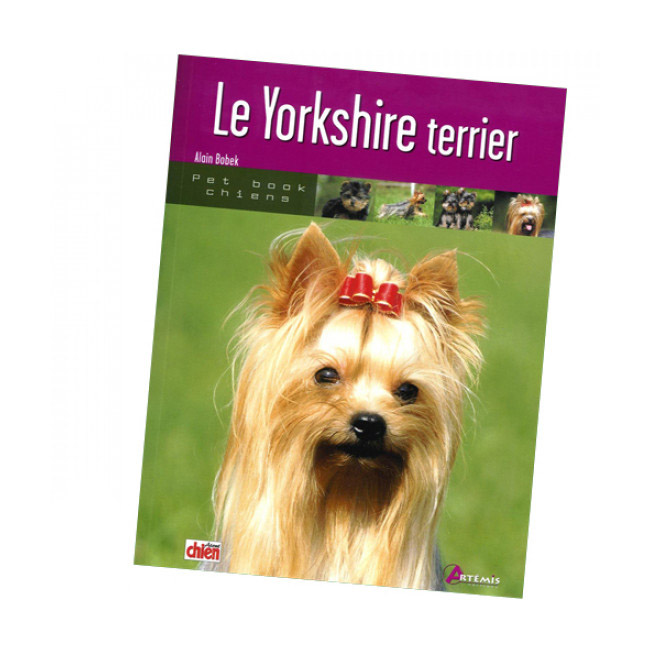 "Livre ""Yorkshire Terrier"" Collection Pet Book"