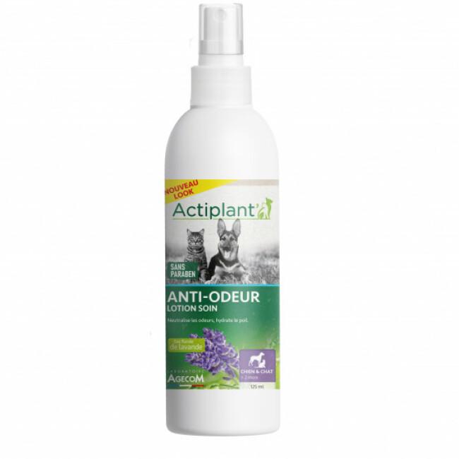 Lotion anti-odeur pour chien et chat Essentiel Agecom flacon 125 ml