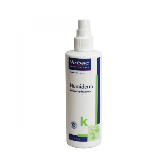 Lotion hydratante Humiderm pour animaux