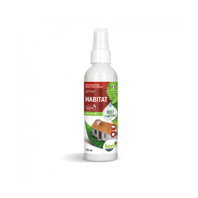 Lotion insecticide bio Naturlys pour habitat