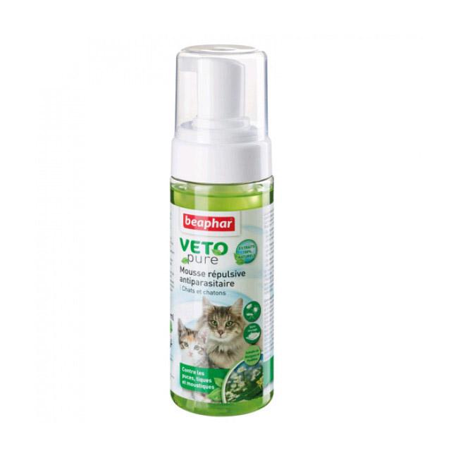 Lotion moussante Veto-Nature insectifuge pour chien et chat