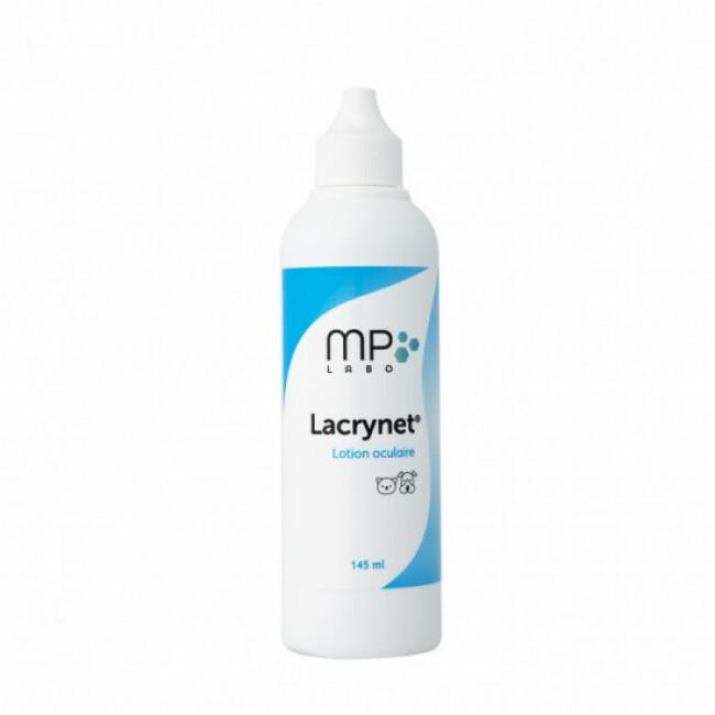 Lotion oculaire pour chien, chat et rongeur Lacrynet MP Labo 145 ml