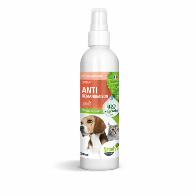 Lotion pour chien et chat Anti-Gratte Bio Naturlys 240 ml