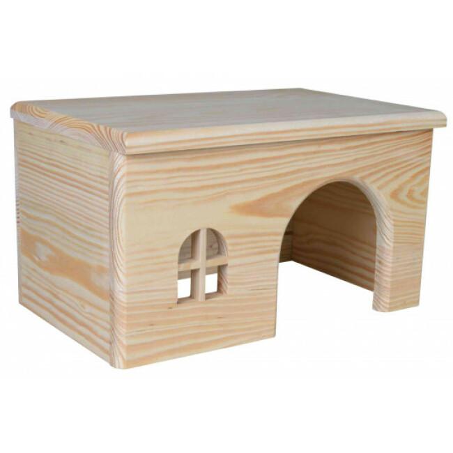 Maison en bois sans clou pour rongeurs