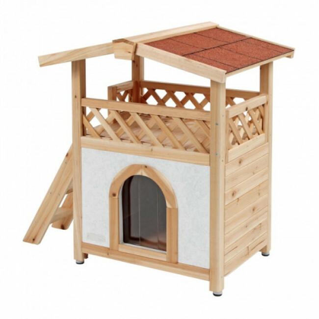Maison pour chat finition chalet Tyrol Alpin