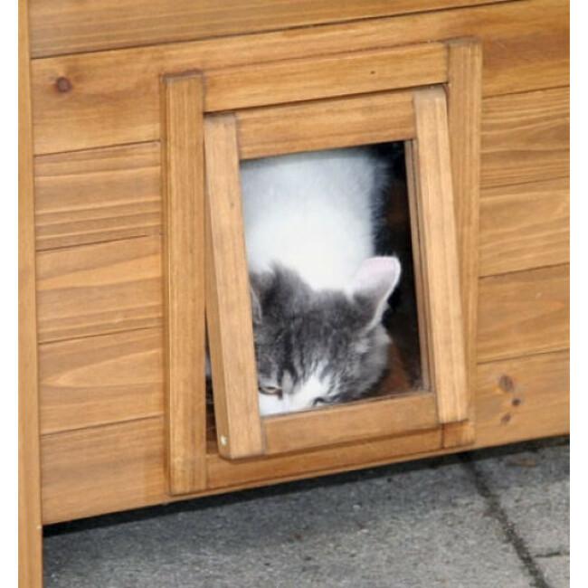 Maison pour chat Lodge
