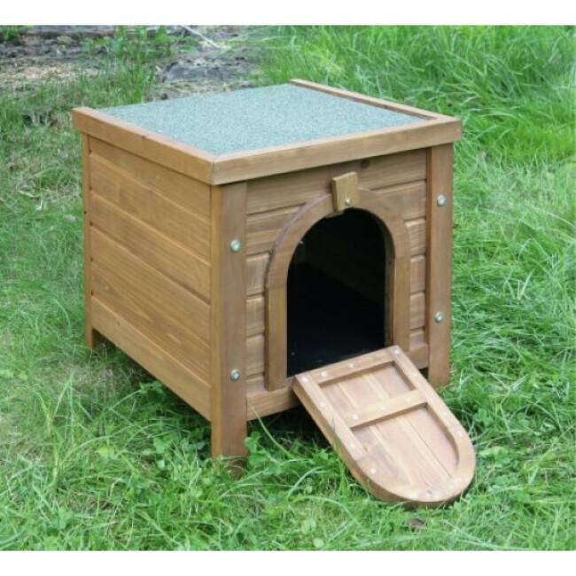 Maisonnette en bois pour rongeur Outdoor Kerbl 36 x 36 x 40 cm
