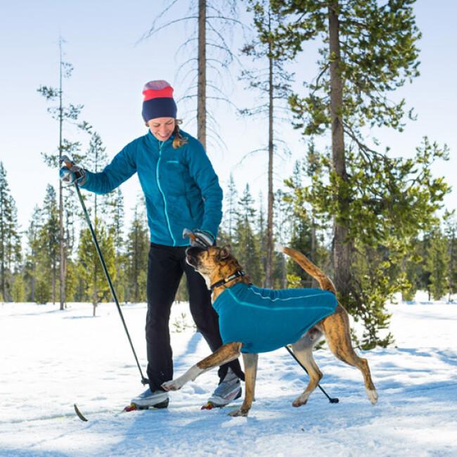 Manteau combinaison polaire pour chien