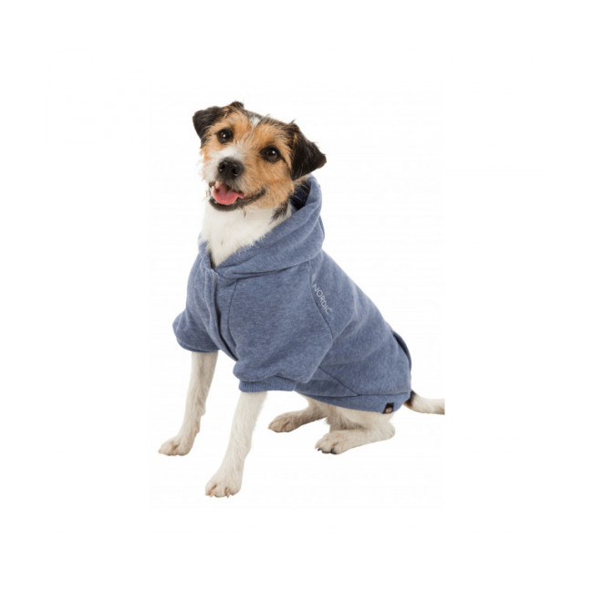 Manteau Flensburg sweat à capuche Bleu pour chien