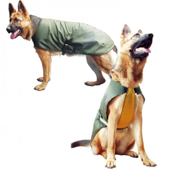 Vetement manteau imperméable Kn1 pour chien