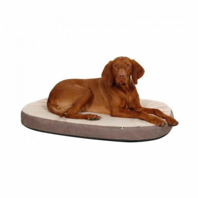 Matelas pour chien à mémoire de forme ovale Kerbl
