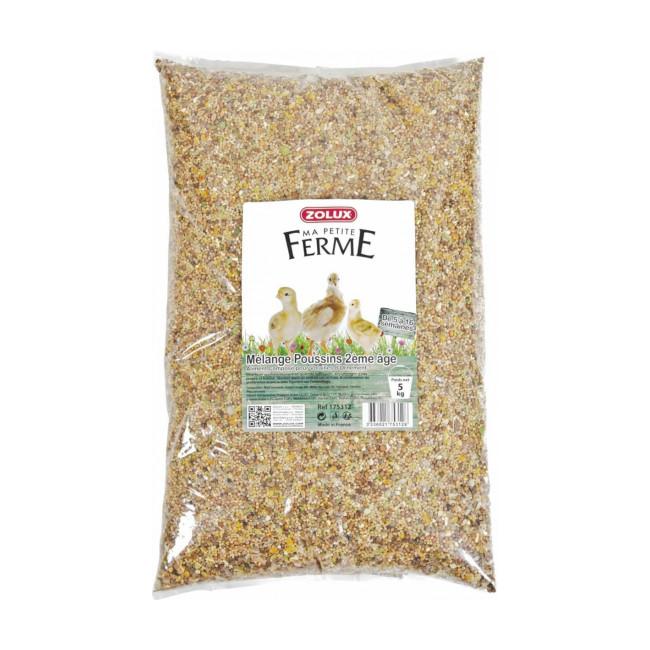 Mélange de graines pour poussin 2ème âge Zolux