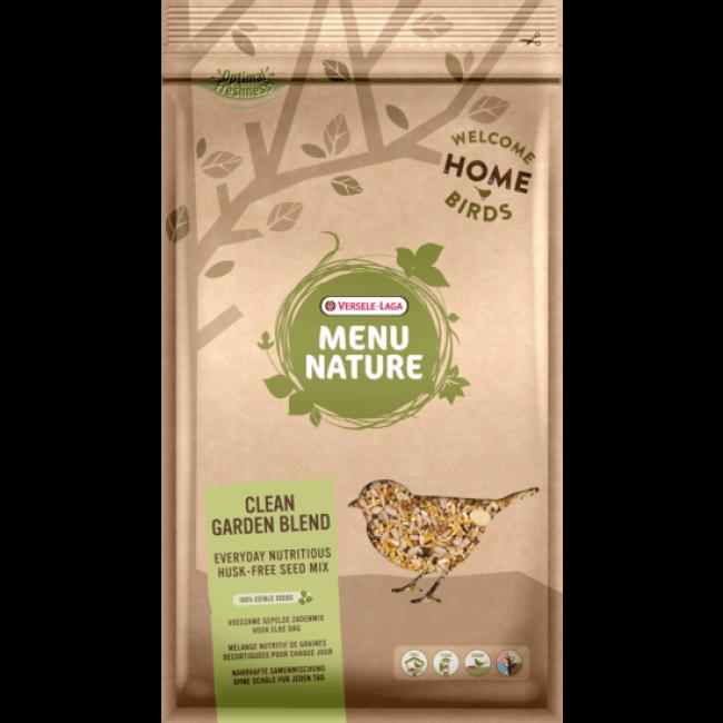 Mélange de graines premium pour oiseaux sauvages Versele Laga Menu Nature Clean Garden Blend Sac 2,5 kg