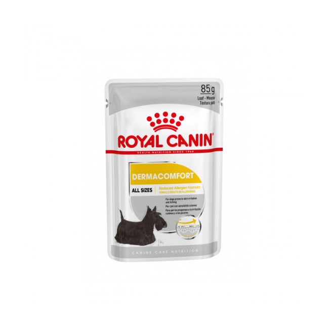 Mousse pour chien Dermacomfort Royal Canin