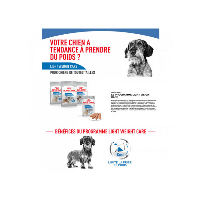 Mousse pour chien Light Weight Care Royal Canin