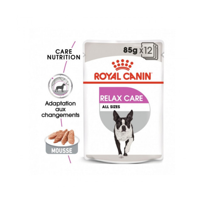 Mousse pour chien Relax Care Royal Canin