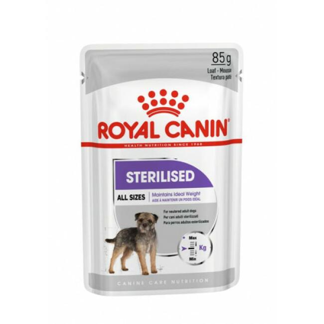 Mousse pour chien stérilisés Sterilised Royal Canin