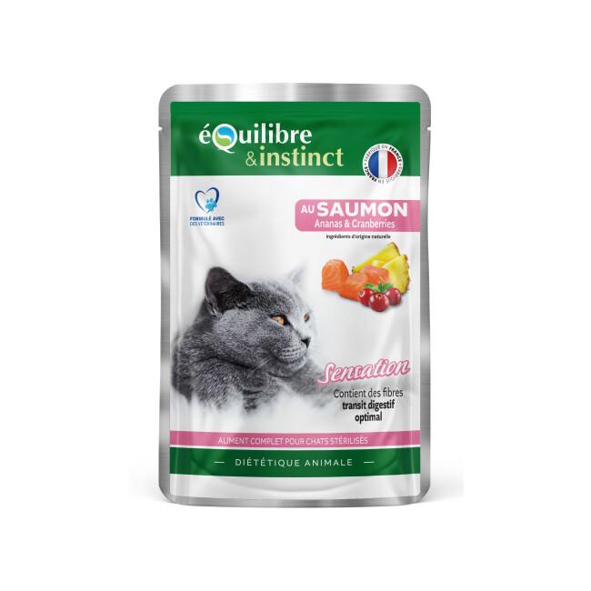 Multipack Effilés Equilibre et Instinct pour chat stérilisé