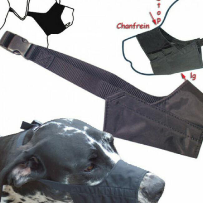Muselière chien nylon