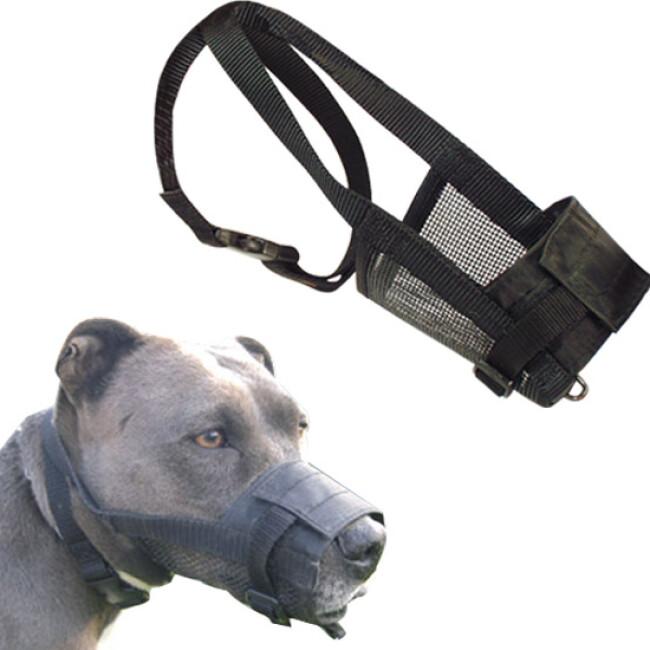 Muselière chien nylon réglable