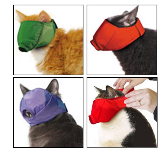 Muselière de contention Mus-cat™ pour chat