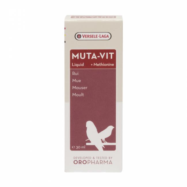 Muta-Vit Liquid Oropharma spécial mue et methionine pour oiseaux