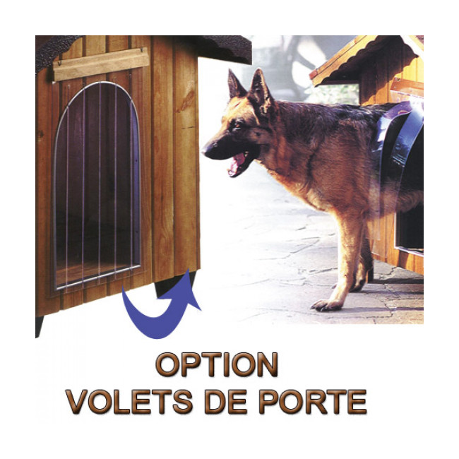Niche en pin pour chien Ferplast Domus
