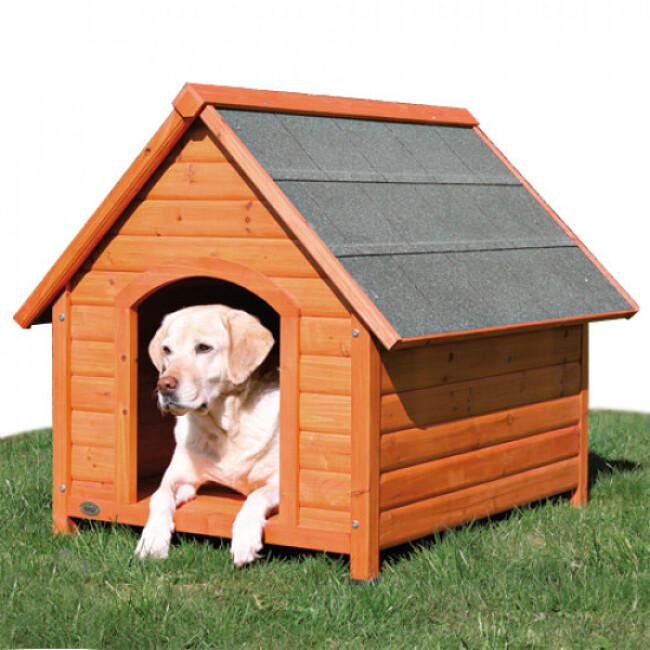 Niche en bois Natura Tradi pour chien