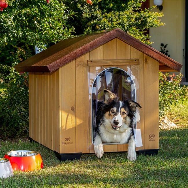 Niche Domus Ferplast pour chiens