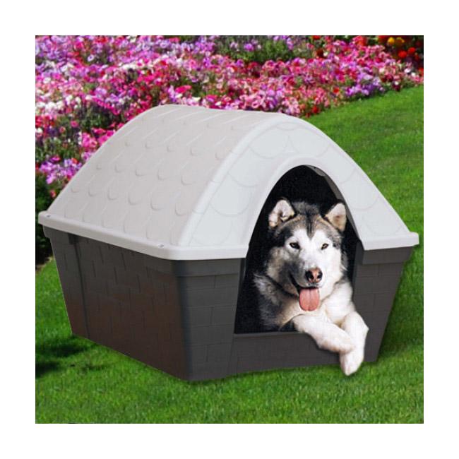 Niche isolée Casa Felice en plastique pour chien