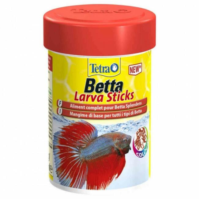 Nourriture poisson Tetra Betta Larvasticks 85 ml