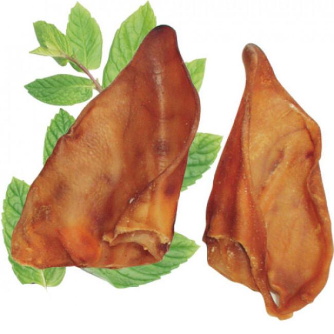 Oreilles de porc friandises pour chien